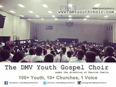 DMV Youth Gospel Choir marketing md va washington dc dmv