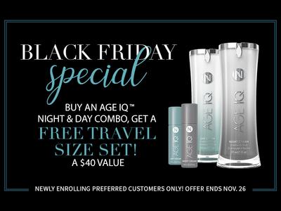 Nerium International Black Friday Promotion
