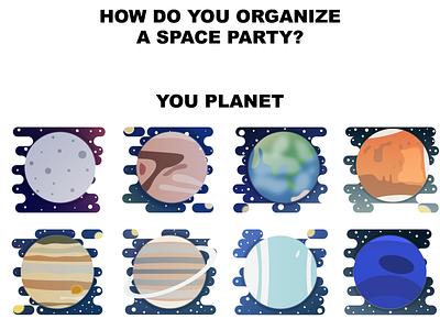Planet icon series illustrator icon universe space pun beginner iconset tutorial solar system