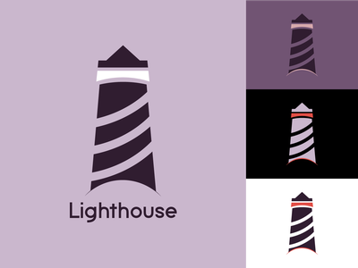Lighthouse design illustrator adobe logodesign logo android app icon design lighthouse mobile icon