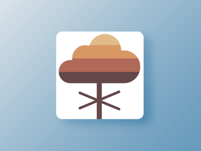 Weathervane logo design icon app weather illustrator launcher icon android