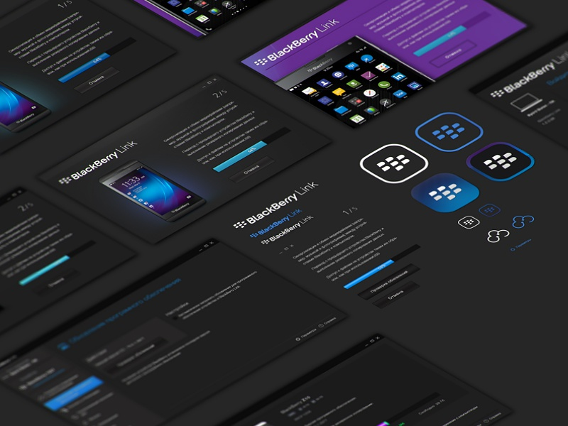 BlackBerry Link by Vladimir Galenko | Dribbble | Dribbble