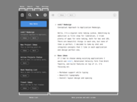 Notes listing - ux / ui design ux ui nvalt notational velocity