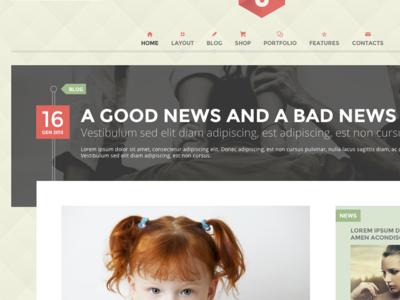 post page wp theme