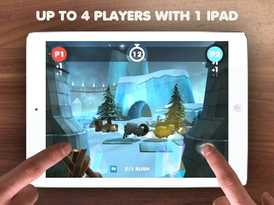 Sheep Rush - Launch Ad 2014 sheep ios ads ipad iphone game video promo launch sheep rush