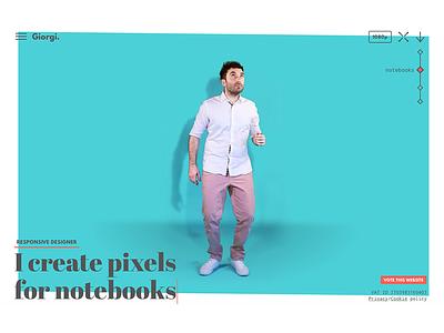 New personal website portfolio giorgi responsive designer