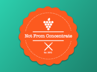 Not From Concentrate Logo