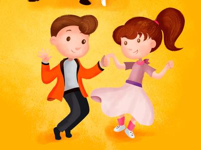 D like Dancing - wip illustratrion