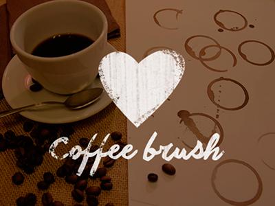 FREEBIE – Coffee stain brush
