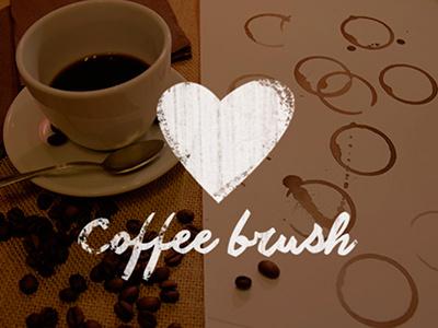 FREEBIE – Coffee stain brush photoshop brush coffee free