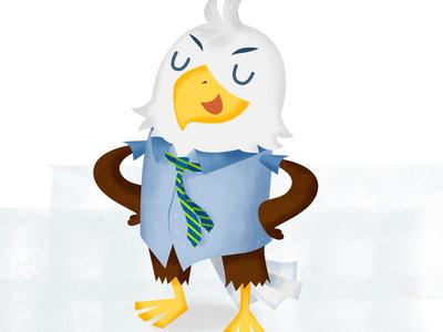 Eagle Mascotte