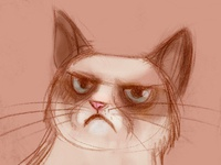 Grumpy Cat Sketch