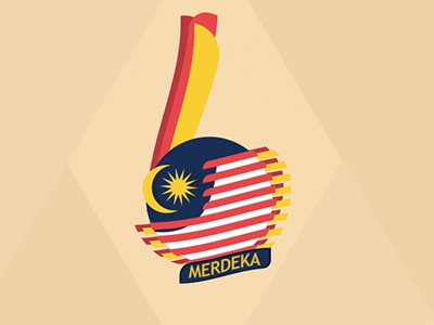 Merdeka Logo 60