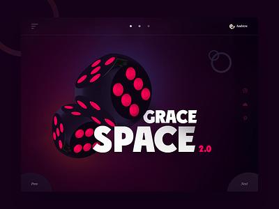 Game play game dice purple design web vector slide illustrator gradients