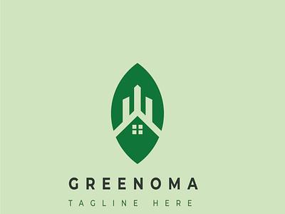 GREENOMA leaf green leaf green logo graphic design nature earth echo friendly logo logo illustration design pictorial logo app design abstract logo modern logo logodesign custom logo branding design