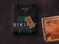 Viking Wood Works T Shirt and Cutting Board