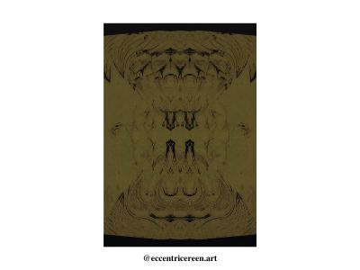 Batik batik illustration design