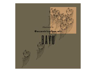 47 batik illustration design