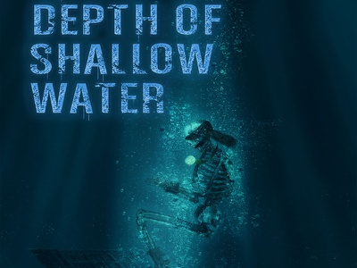 The Depth of Shallow Water graphic design ebook cover design book cover design book cover