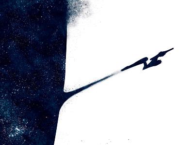Star Trek star trek final frontier geek art spock hand enterprise space galaxy star trek final frontier geek art