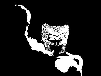 Wolverine Noir wolverine comics noir smoke super heroes sin city frank miller