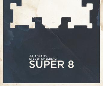 J.J. ABRAMS & Steven SPIELBERG's SUPER 8 minimalism poster super8 super 8 abrams spielberg