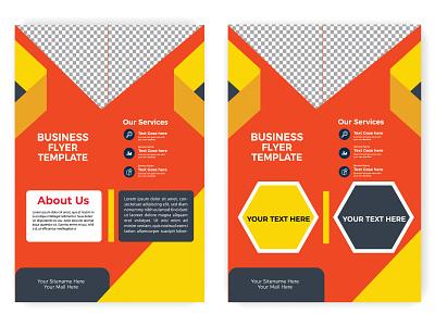 flyer design modern layout bundle red yellow banner templates commercial banner design social media design illustraion poster design colorful flyer graphic design