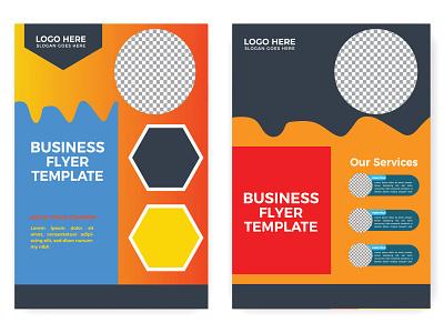 flyer brochure design a4 template print design bundle brochure design banner design poster design social media design colorful flyer design graphic design
