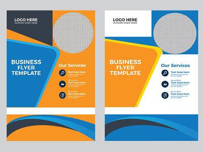 flyer, brochure design a4 template design set print graphic design