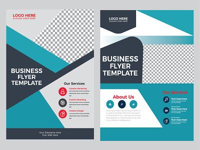 flyer, brochure design a4 template, set print design graphic design flyer