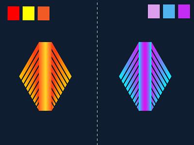 MOGERN LOGO DESIGN 3d project red logo design design vector illustration colorful social media design branding logo graphic design mogern logo design