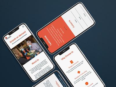 Errands On Demand | Web Design eccleston.agency smallbusiness website concept website design branding and identity mobileweb websitemockup responsive branding webdesign