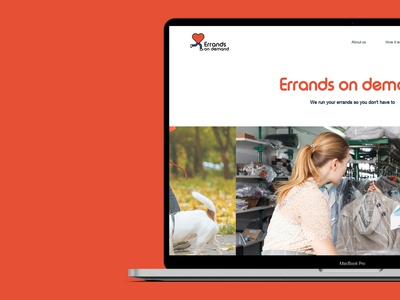 Errands On Demand | Web Design eccleston.agency smallbusiness website concept website design branding and identity mobileweb websitemockup responsive branding webdesign