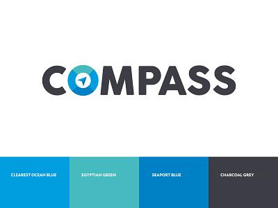 Compass Branding & Identity symbol icon icon design designagency logo logotype eccleston.agency branding agency colourpalette concept logoicon branding logodesign branding and identity