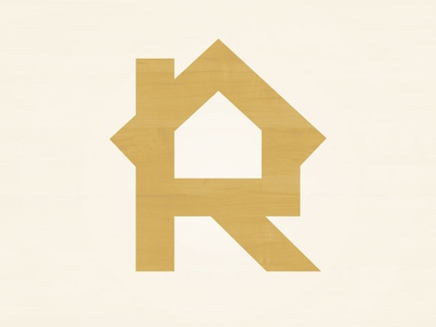 Rybard Homes logo contruction wood home