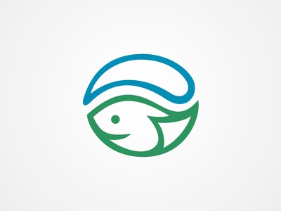 Stormwater Logo fish water
