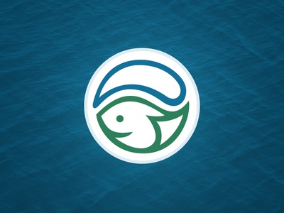 Stormwater Logo More Circular water fish
