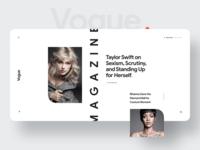 Vogue. Magazine