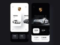 Porsche App Design