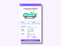 Car Rental UI