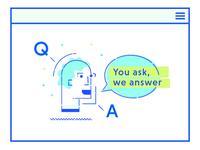Q & A Man