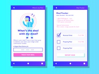 Meal Delivery App Concept