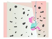 Climbing up up up!