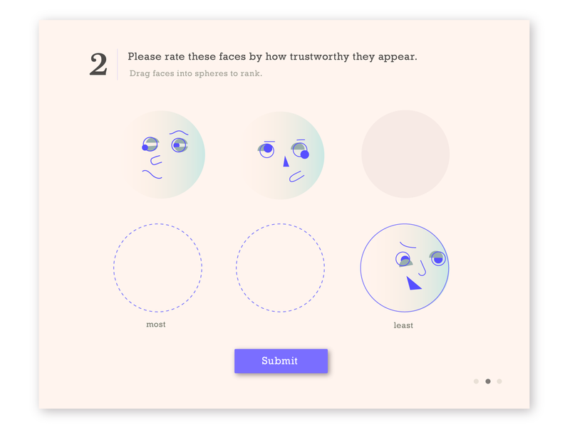 Trustworthy hehe looks faces responsive quiz illustration ui design modal ui