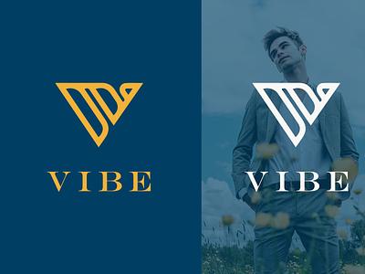VIBE | Modern V letter logo vibe icon letter logo letter luxury logo luxury modern logo modern fashion logo clothing model fashion design minimal logos business logo design logo logodesign branding logo design