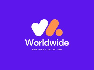 W letter logo | Business logo logo mark app icon modern lettermark letter logo w letter w logo o p r s t u v w x y z t h e q u i c k b r o w n f o x design business logo design logo branding logo design