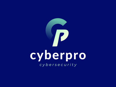 cyberpro logo design | cybersecurity o p r s t u v w x y z a b c d e f g h i j k l m n symbol icon l a z y d o g creative abstract lettermark letter logo logo trends 2021 modern tech identity monogram cybersecurity security design logo branding logo design