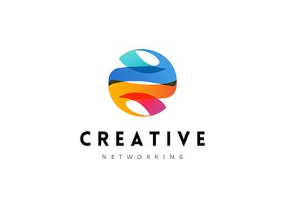 Tech Company logo design | Creative Networking logo logo trends 2021 it enterprise symbol tech logo technology software gradient icon creative networking modern startup tech business logo design design logodesign logo branding logo design
