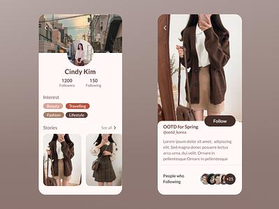 Social Media App illustration design app ux branding animation ui
