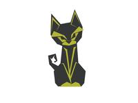 Cat Origami Design